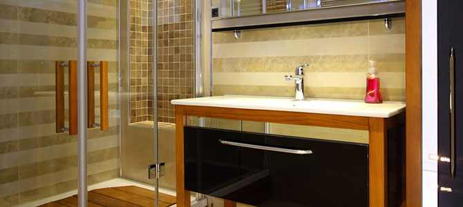 bad neubau aus delitzsch inkl. 3d planung, Badezimmer